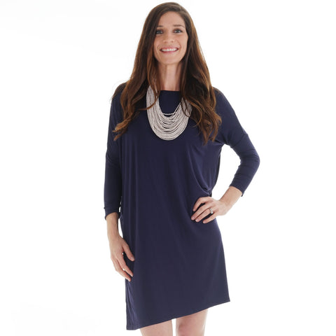 Navy Brooklyn Dress