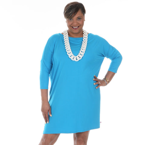 Turquoise Brooklyn Dress