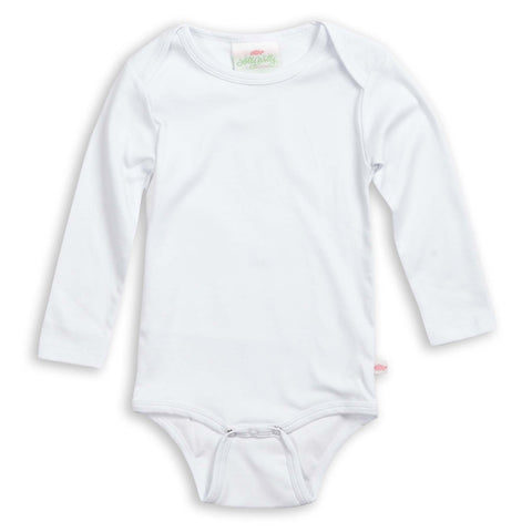 White Long Sleeve Onesie