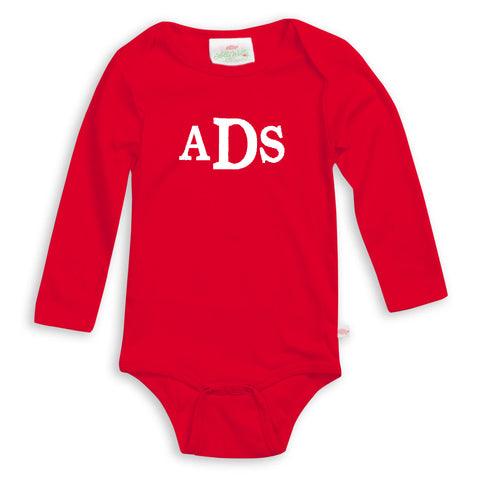 Red Long Sleeve Onesie
