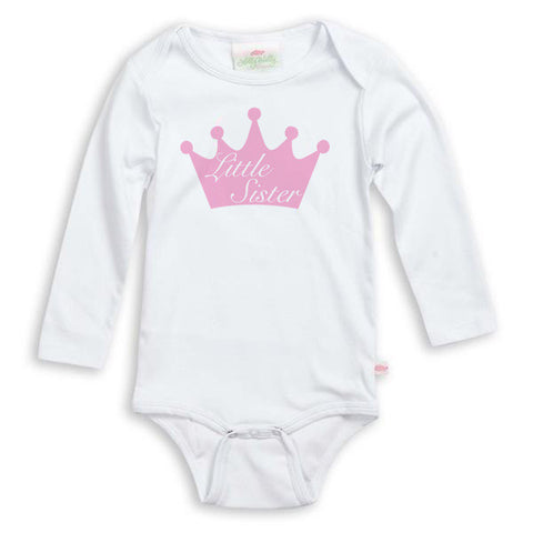 Crown Sibling Onesie