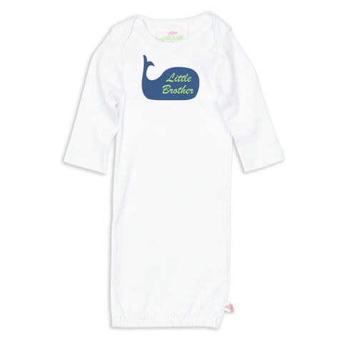 Little Brother Whale Sibling Layette