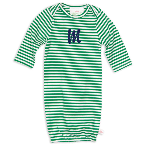 Green Stripe Layette