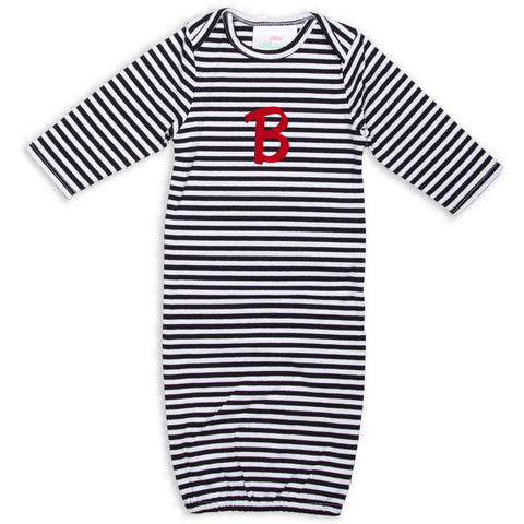 Black Stripe Layette