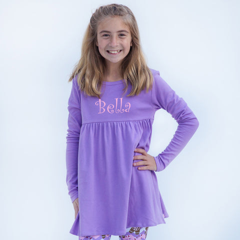 Lavender Empire Top