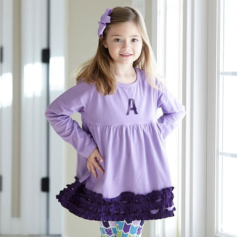Lavender Squinchy Top