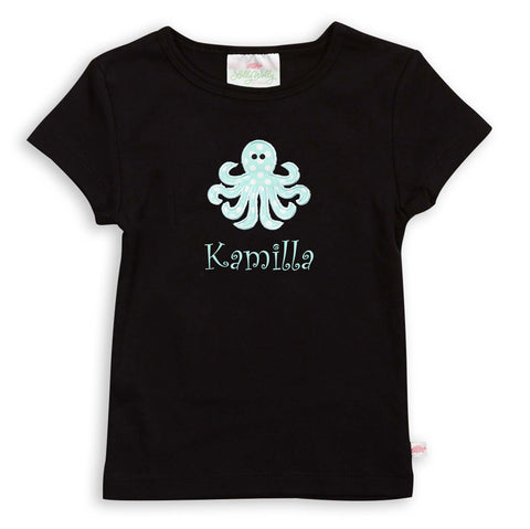 Black Initials Top