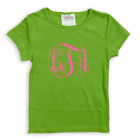 Green Initials Top