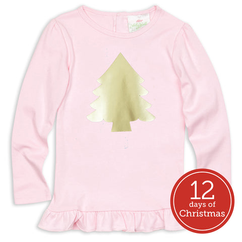 Pink Christmas Tree Top