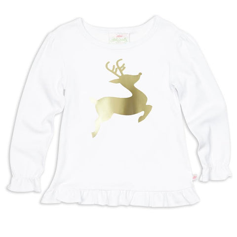 White Reindeer Top