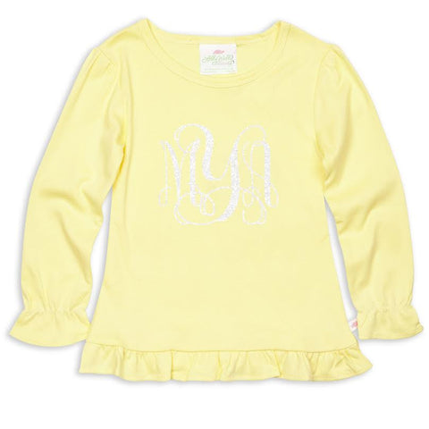 Light Yellow Initials Top