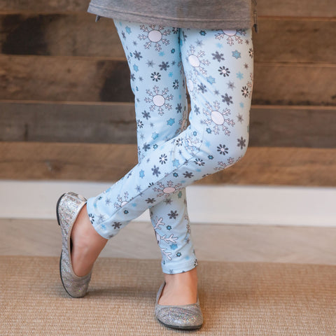 Girls Snowflake Arden Leggings