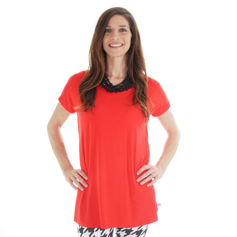 Red Nora Top