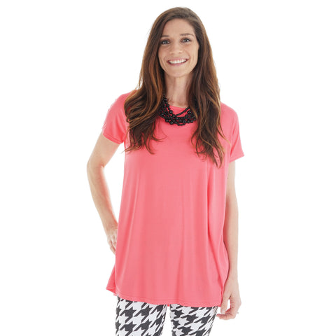 Coral Nora Top