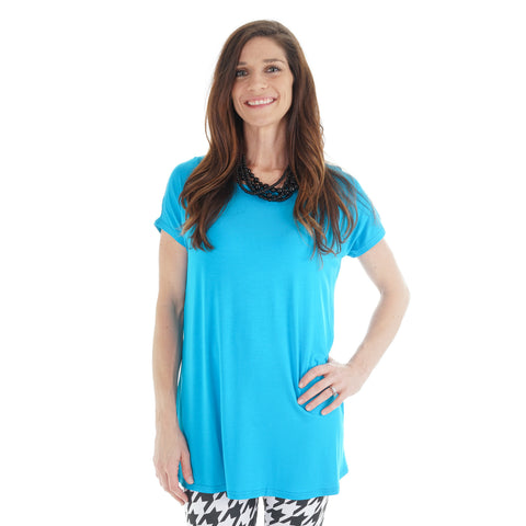 Turquoise Nora Top