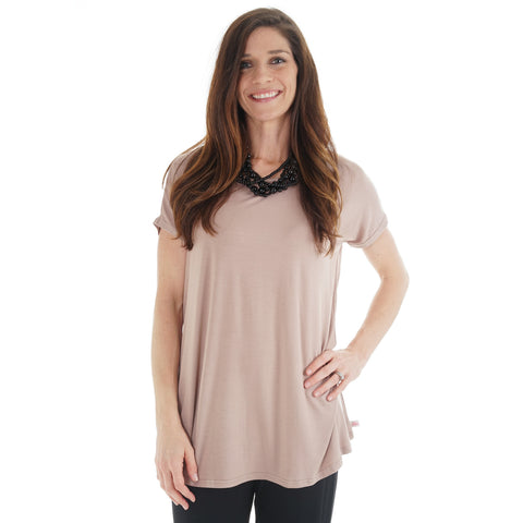 Taupe Nora Top