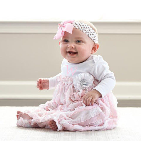 White Pink Layette