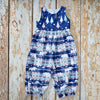 Alaskan Night Midnight Trees Romper