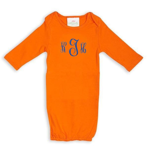 Orange Onesie Gown
