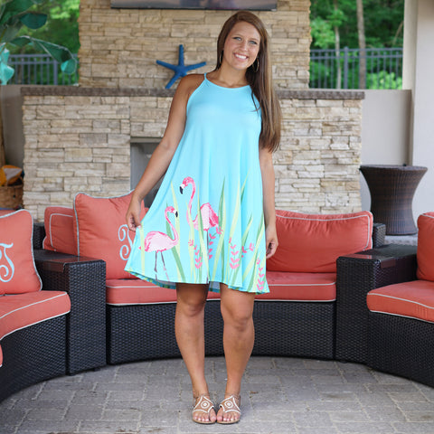 Flamingo Lilian Dress
