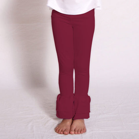 Girls Ruby Ruffle Leggings