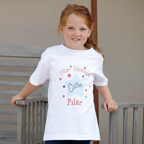 Star Spangled Cutie Name Tee