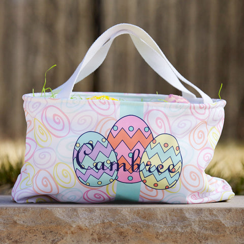 Easter Egg Name Basket