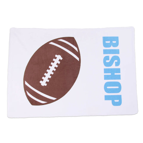 Football Name Minky Pillowcase