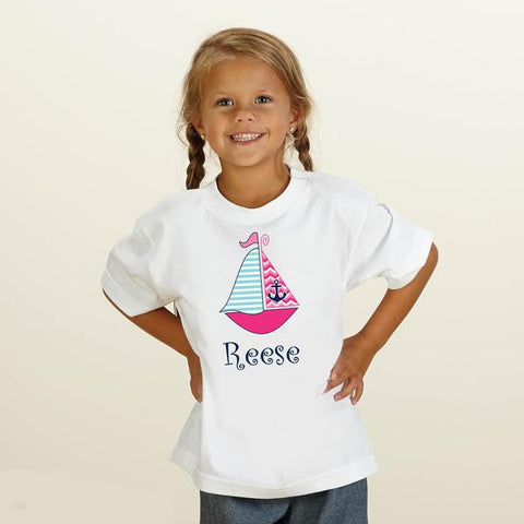 Sailboat Name Tee