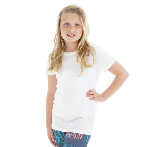 Girls White Tee
