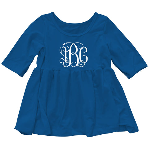 Royal Blue Elizabeth Top