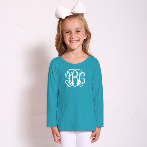 Turquoise Sophie Top