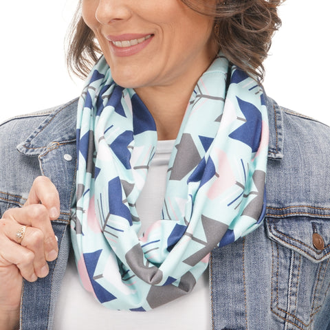 Ladies Alaskan Nights Arrows Scarf