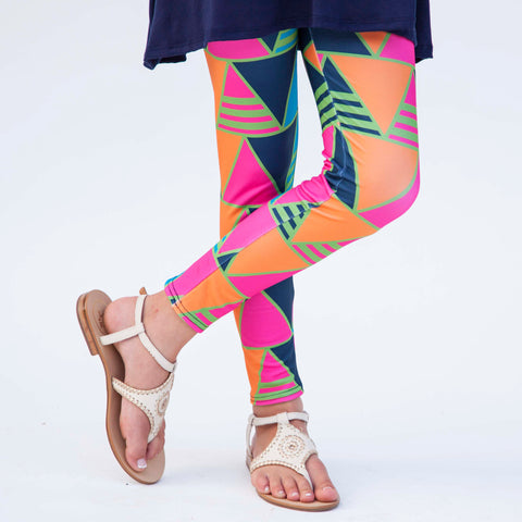 Girls Triangle Arden Leggings