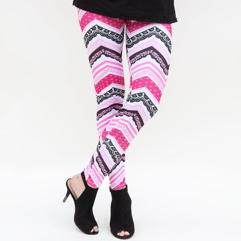 Ladies Chevron Arden Leggings