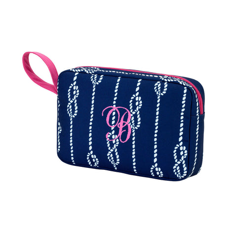 High Tied Cosmetic Bag