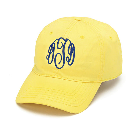 Yellow Initials Cap