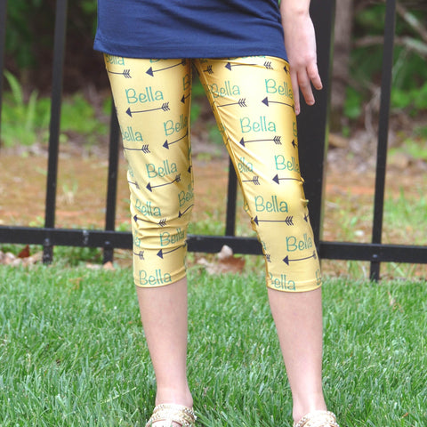 Girls Arrow NAME Arden Capri Leggings