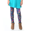 Girls Happy Fall Yall Toss Arden Leggings