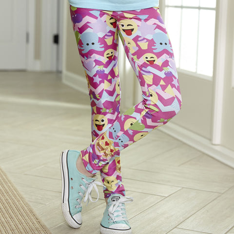 Girls Emojis Arden Leggings