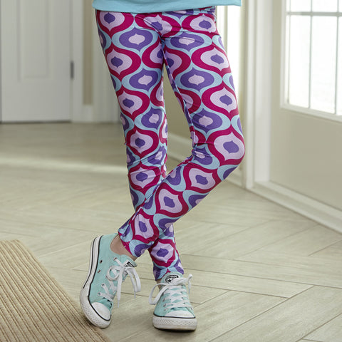 Girls Geo Arden Leggings