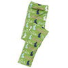 Girls Lime Bunny NAME Arden Leggings