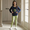 Girls Green NAME Bunny Arden Leggings