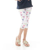 Girls Deer Arrow Name Arden Capri Leggings