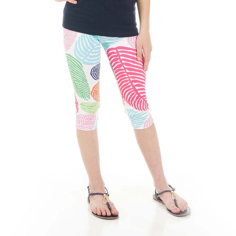 Girls Palm Arden Capri Leggings