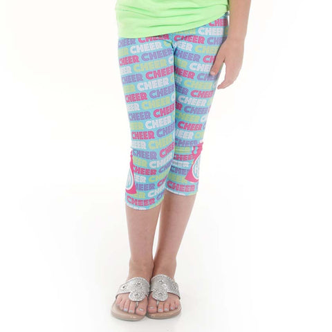 Girls Cheer Arden Capri Leggings
