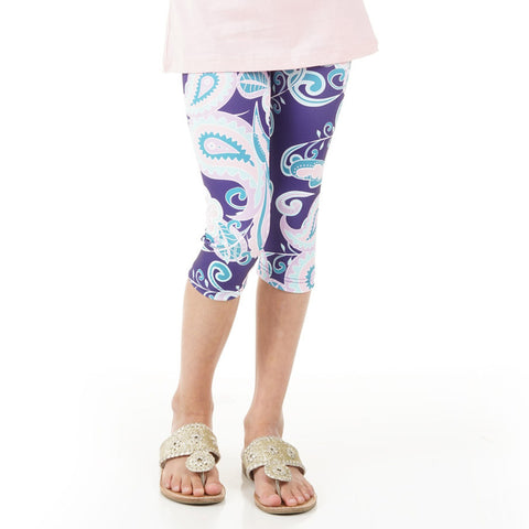 Girls Paisley Arden Capri Leggings