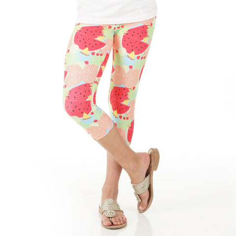 Girls Fruit Arden Capri Leggings