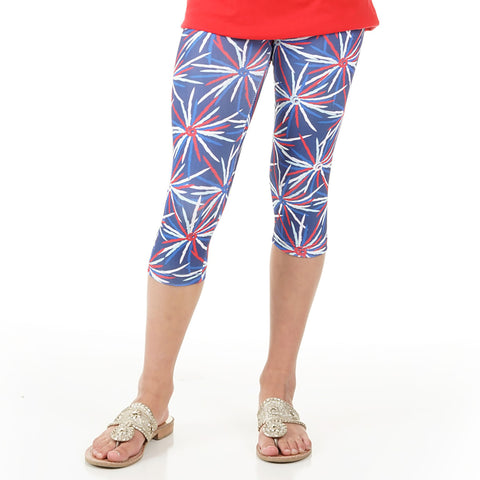Girls Fireworks Arden Capri Leggings
