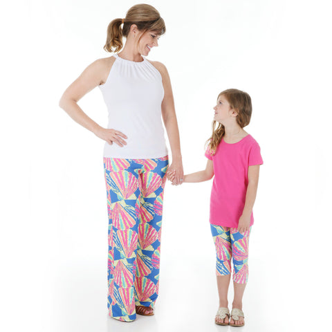 Girls Shell Arden Capri Leggings